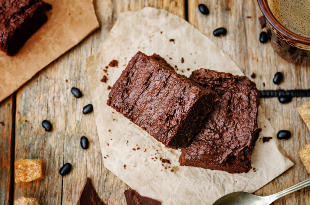 Black Bean Brownie, say WHAT?