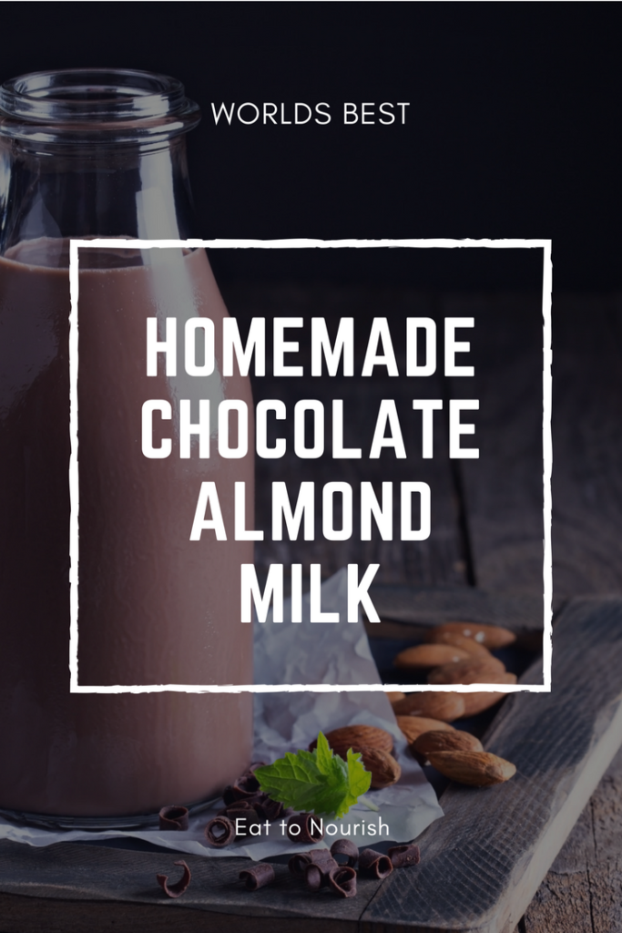 Blissful Chocolate Almond Milk