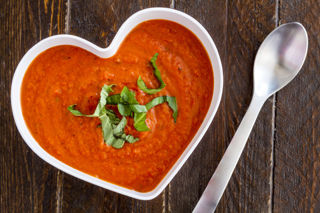 (Better Than) Mom's Roasted Tomato Basil Soup