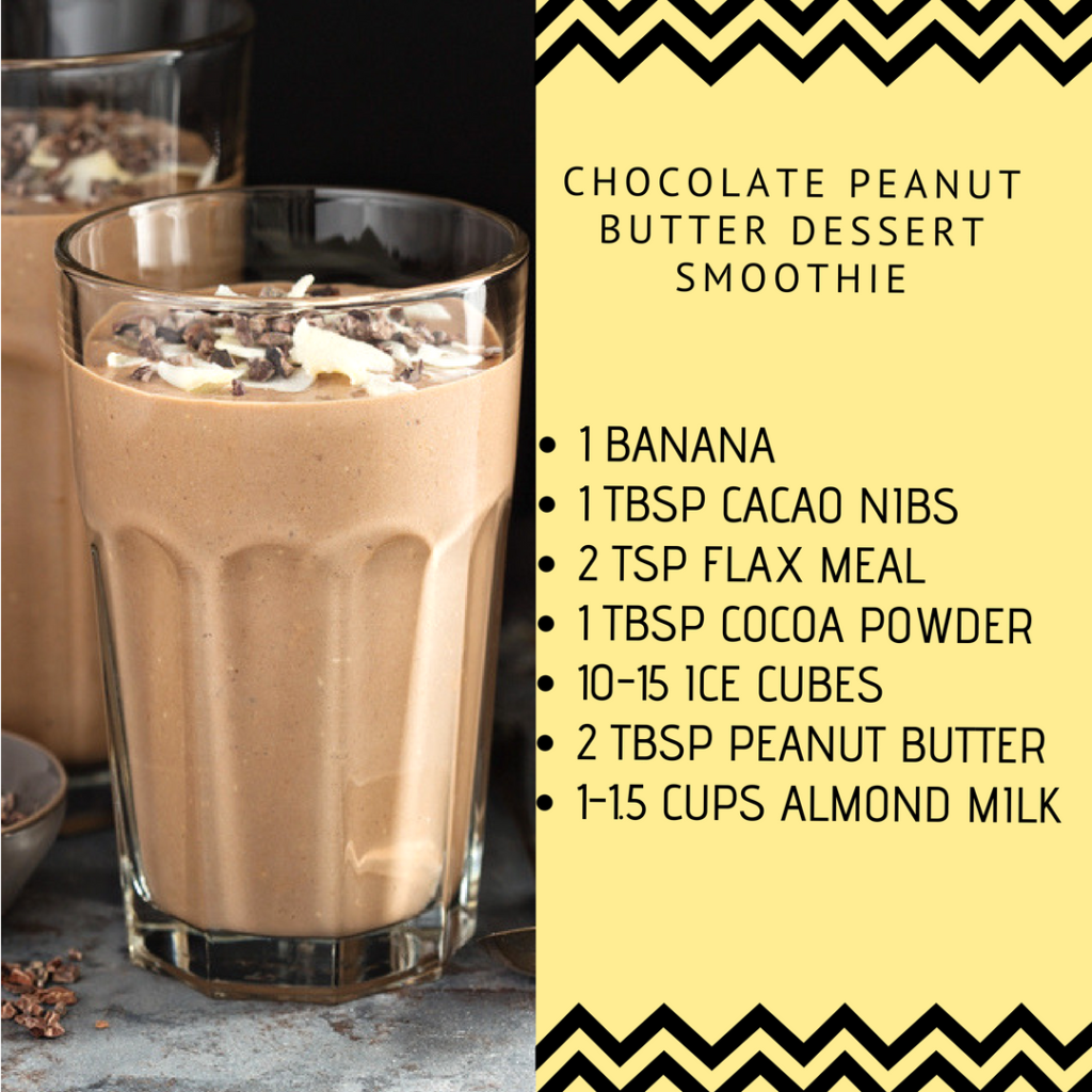 Sugar-Busting Chocolate Peanut Butter Shake