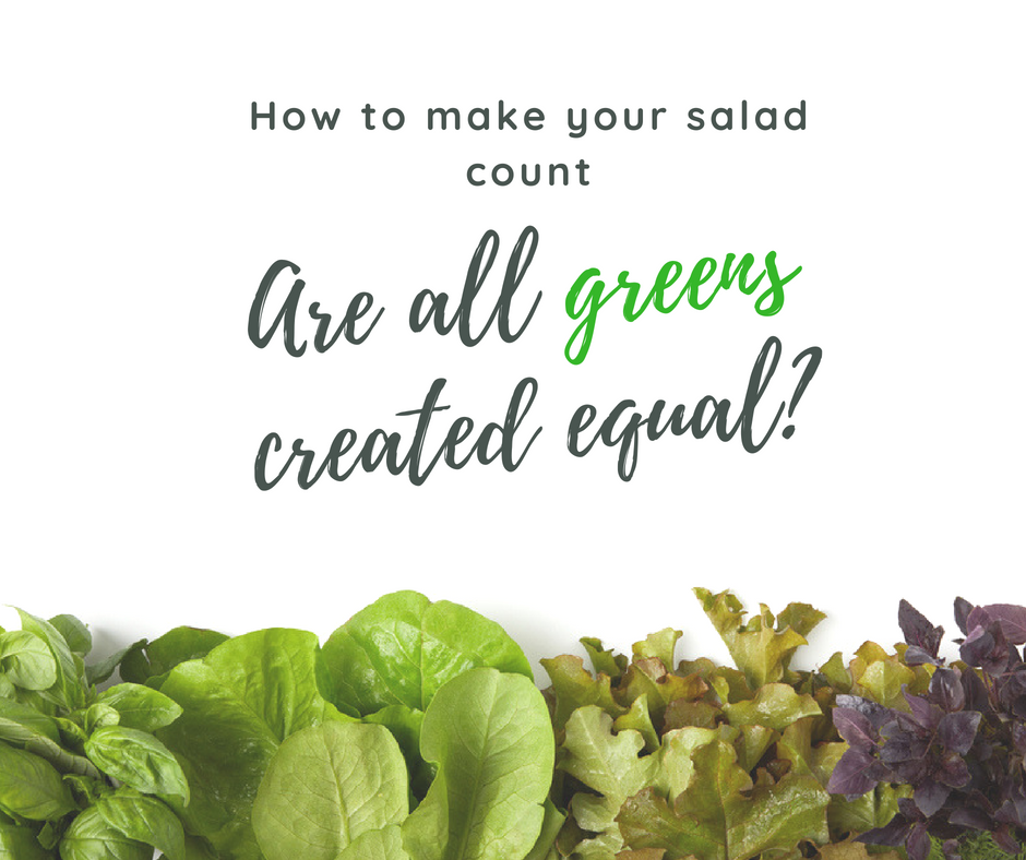 Are All Greens Created Equal?
