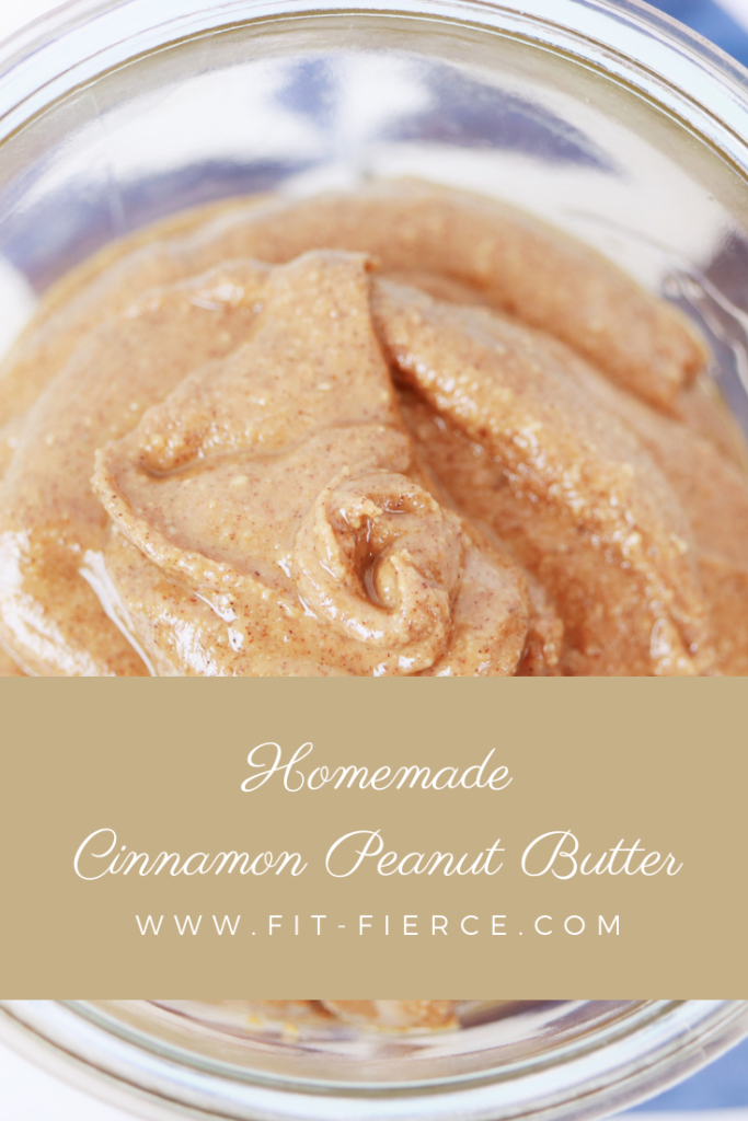 Homemade Cinnamon Peanut Butter