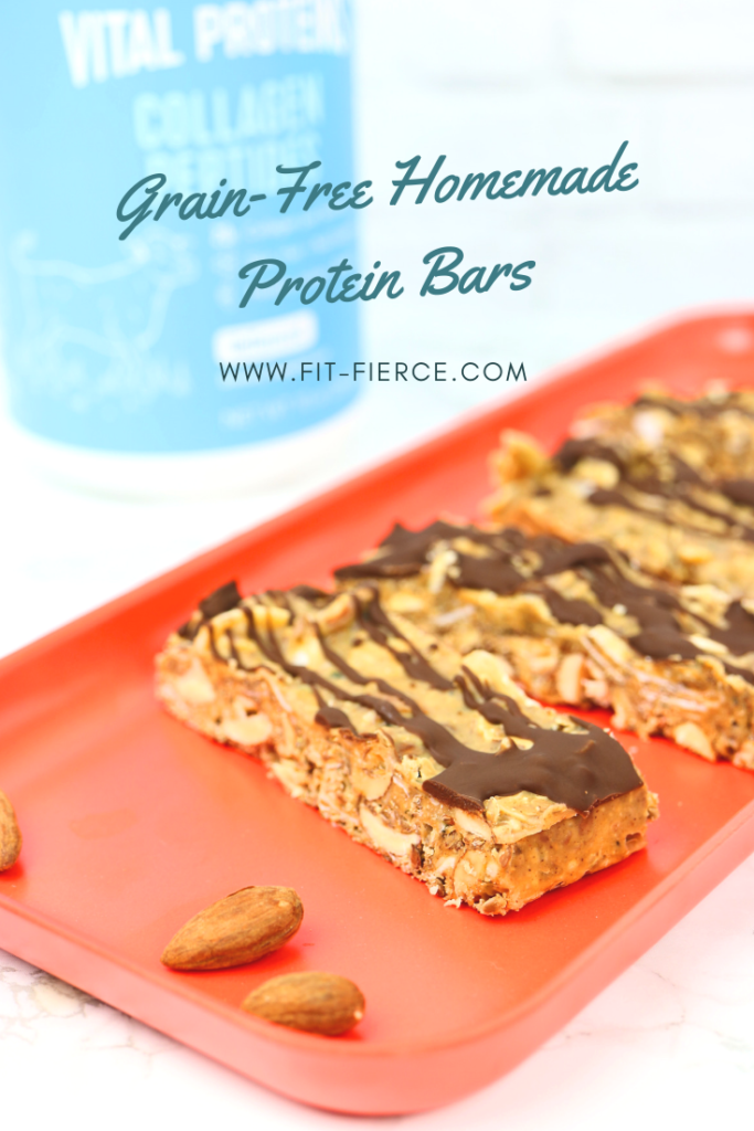 No Bake Grain-Free Protein Bars
