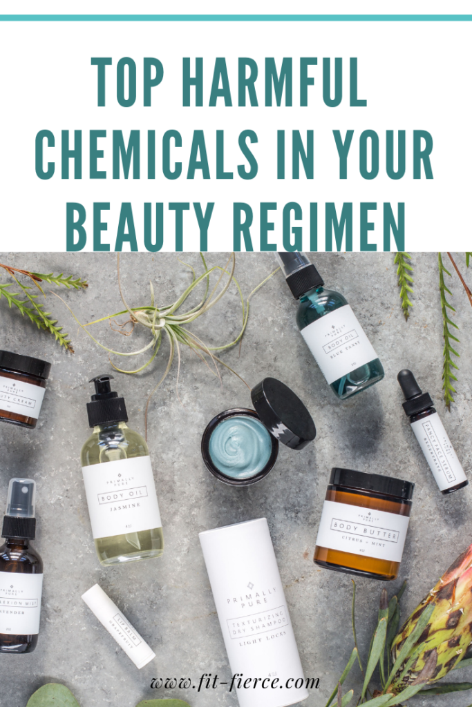 Top Harmful Chemicals in Your Beauty Regimen