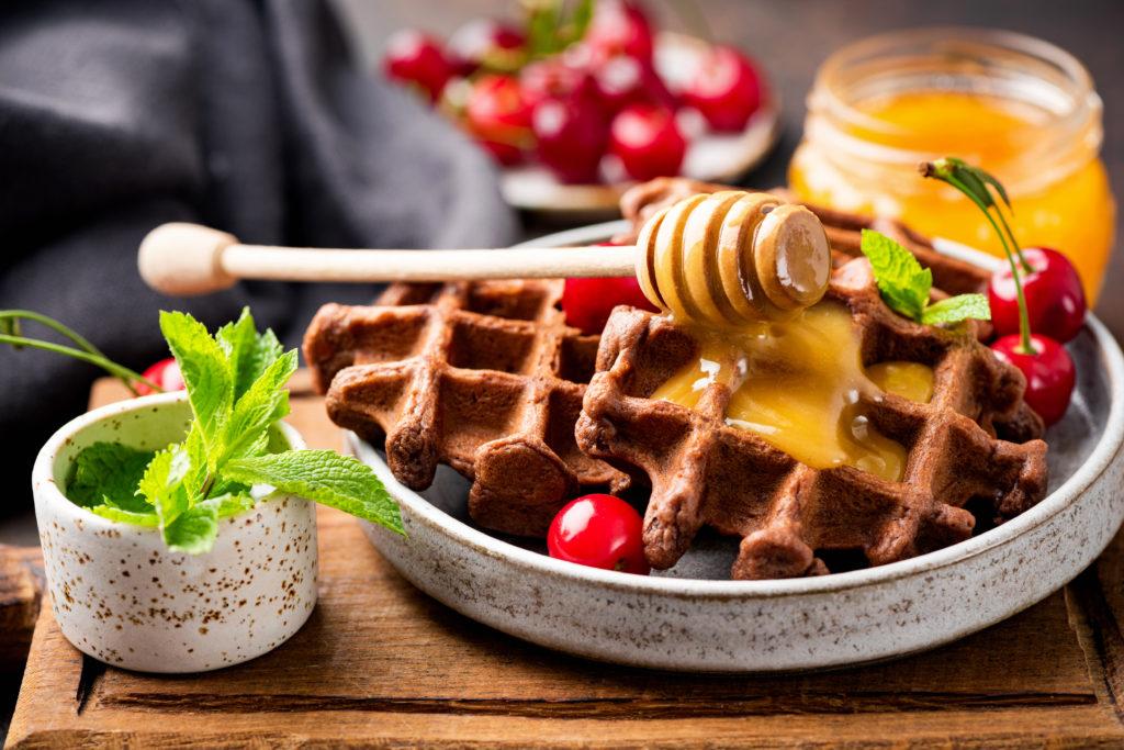 Grain-Free Plantain Waffles