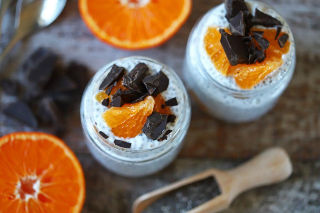 Orange and Cardamom Chia Pudding